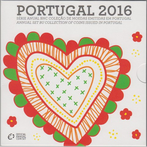2016. Cartera euros Portugal