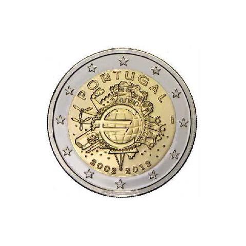 "2012. 2 Euros Portugal ""X Aniversario"""