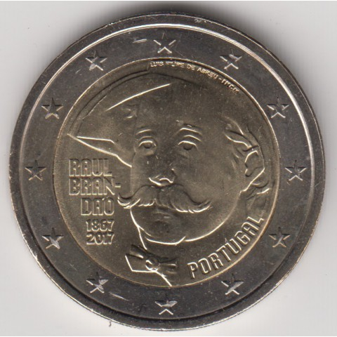 """2017. 2 Euros Portugal """"Raúl Brandao"""""""