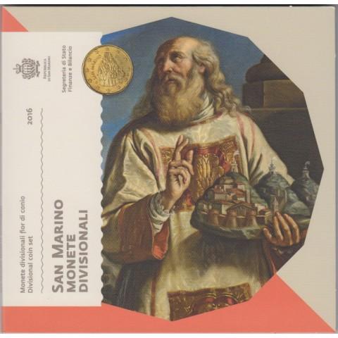 2016. Cartera euros San Marino