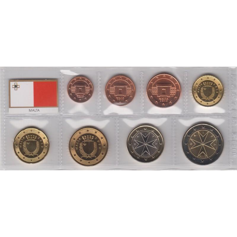 2012. Tira euros Malta
