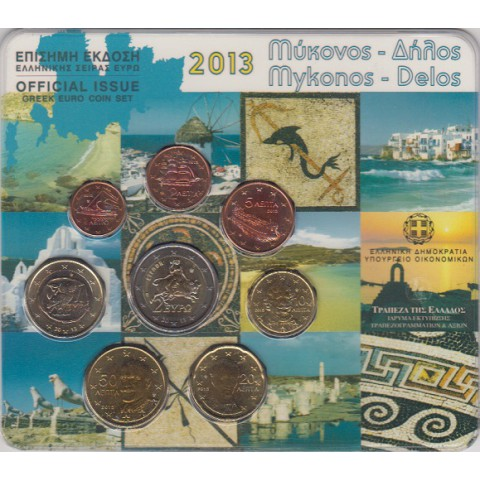 2013. Cartera euros Grecia