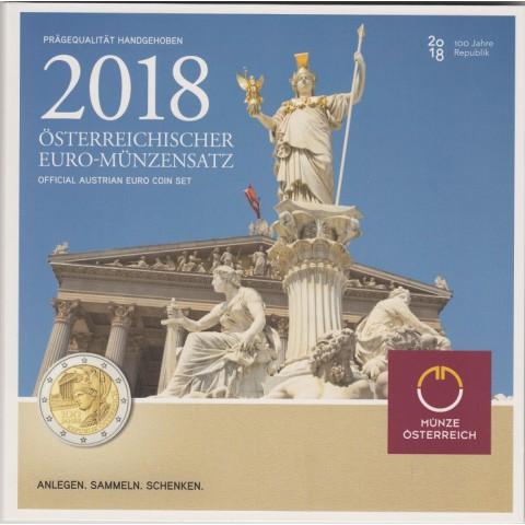 2018. Cartera euros Austria