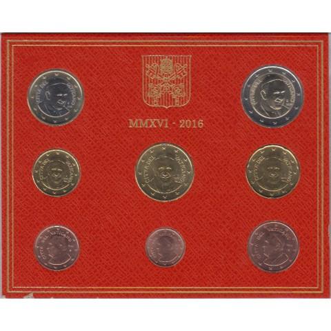 2016. Cartera euros Vaticano