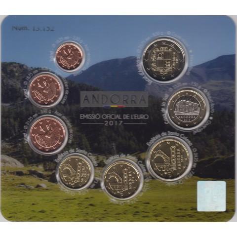 2017. Cartera euros Andorra