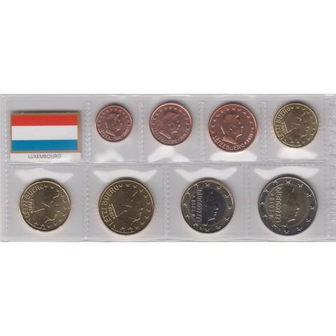 2018. Tira euros Luxemburgo