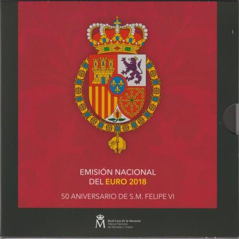 2018. Cartera euros España