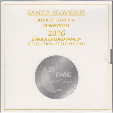 2016. Cartera euros Eslovenia
