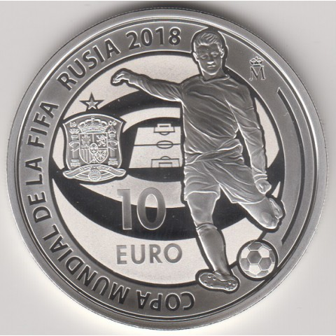 2018. Copa Mundial FIFA Rusia 18. 10 euros