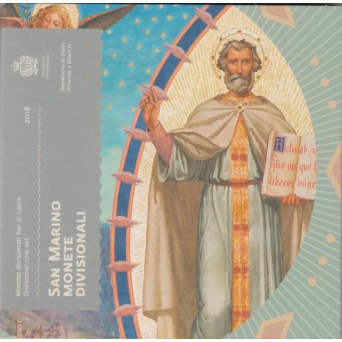 2018. Cartera euros San Marino