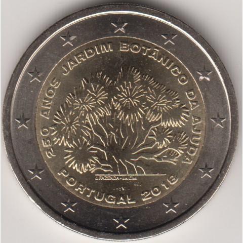 "2018. 2 euros Portugal ""Jardín Botánico"""