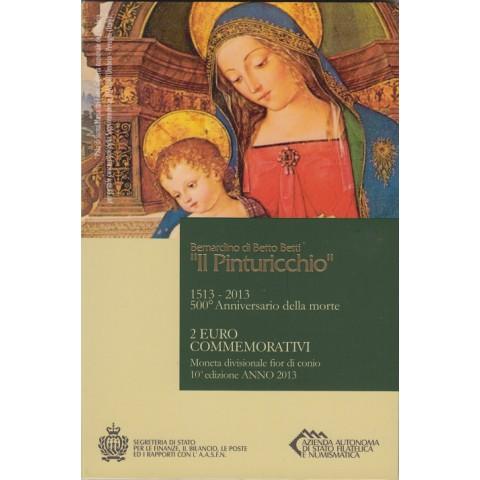 """2013. 2 Euros San Marino """"Pinturicchio"""""""