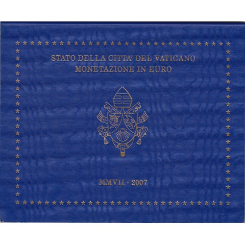 2007. Cartera euros Vaticano