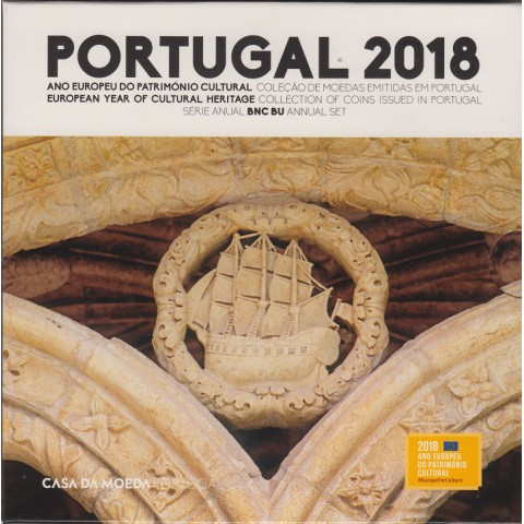 2018. Cartera euros Portugal