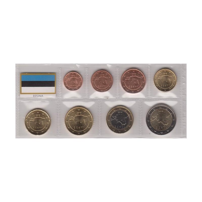 2018. Tira euros Estonia