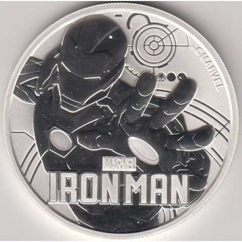 2018. Onza Tuvalu. Iron Man
