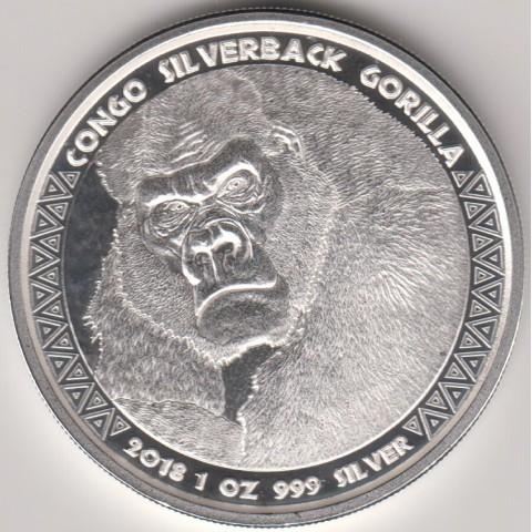 2018. Onza Congo. Gorila