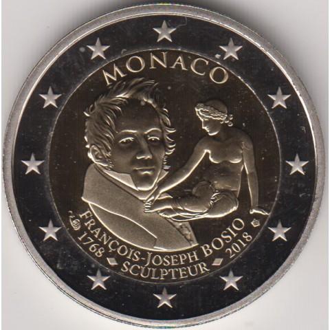 """2018. 2 Euros Monaco """"Bosio"""""""