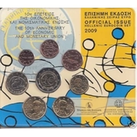 2009. Cartera euros Grecia EMU