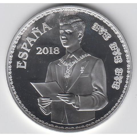 "2018. 50 Aniv. Felipe VI. 10 euros ""Discurso"""