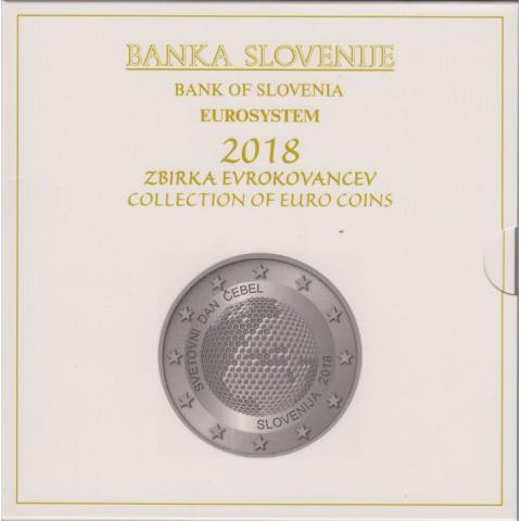 2018. Cartera euros Eslovenia