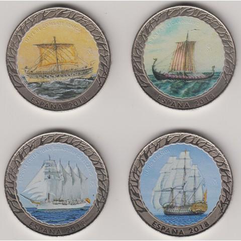 2018. Historia de la navegación. 1ª serie