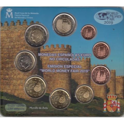 """2019. Cartera euros España """"World Fair Money"""""""
