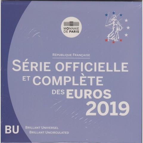 2019. cartera euros Francia