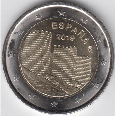 """2019. 2 euros España """"Muralla"""""""