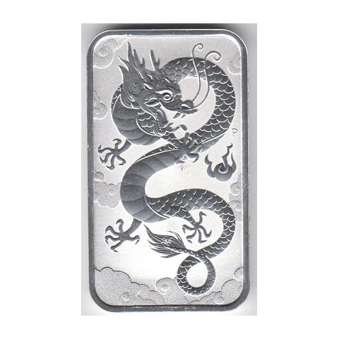 2019. Onza Australia. Rectangular dragón