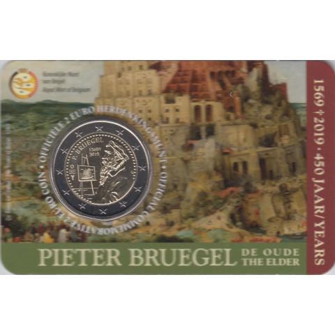 "2019. 2 euros Bélgica. ""Bruegel"""