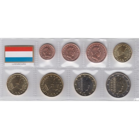 2019. Tira euros Luxemburgo