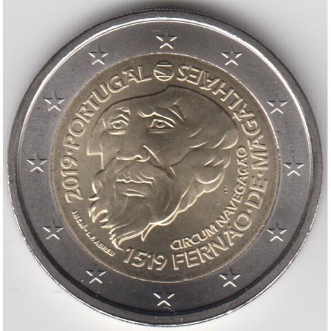 "2019. 2 Euros Portugal ""Magallanes"""