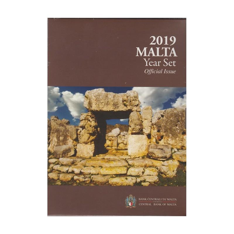 2019. Cartera euros Malta