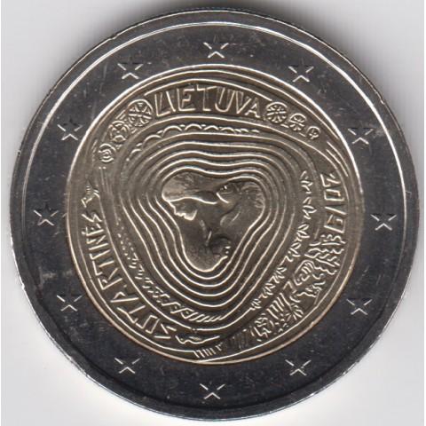 "2019. 2 Euros Lituania ""Sutartines"""