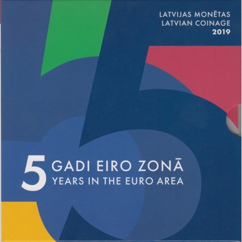 2019. Cartera euros Letonia