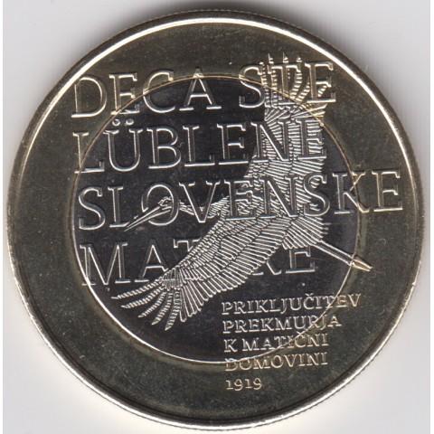 """2019. 3 Euros Eslovenia """"Transmurania"""""""