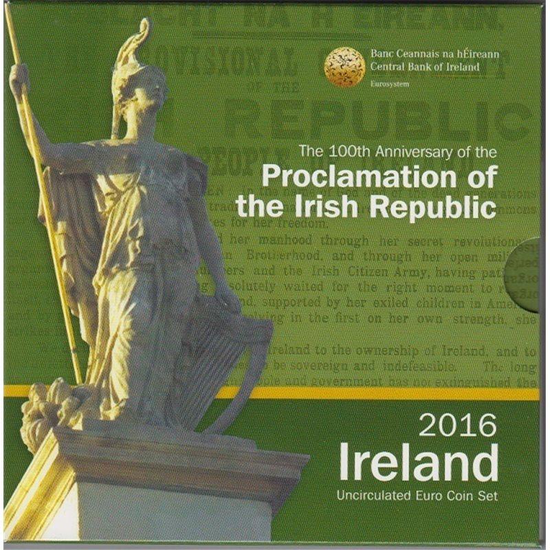 2016. Cartera euros Irlanda