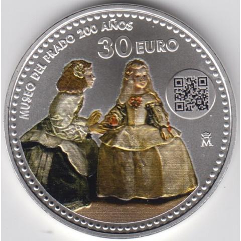 """2019. 30 Euros España """"Museo Prado"""""""