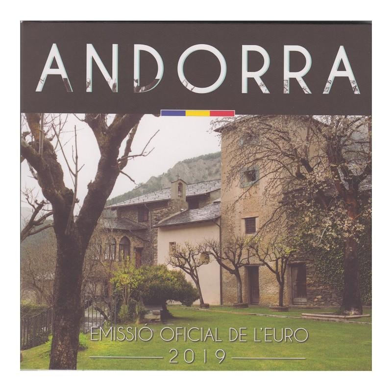 2019. Cartera euros Andorra