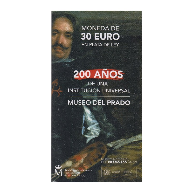 2019. Cartera 30 euros España. Museo Prado