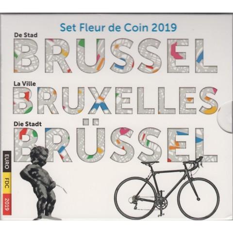 2019. Cartera euros Belgica