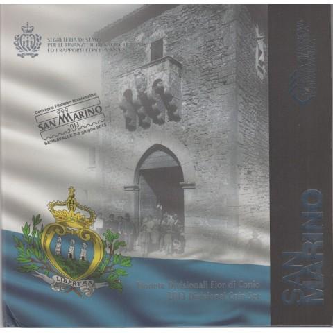 2013. Cartera euros San Marino