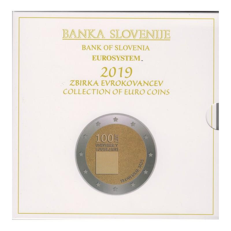 2019. Cartera euros Eslovenia