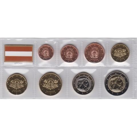 2019. Tira euros Letonia