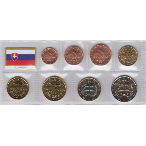2012. Tira euros Eslovaquia