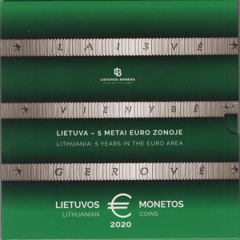 2020. Cartera euros Lituania