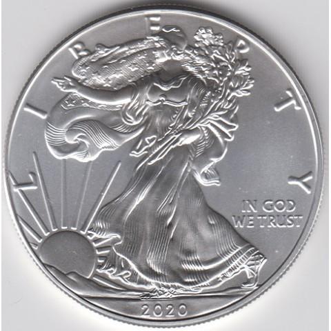2020. Onza EEUU. Eagle