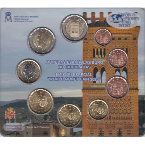 """2020. Cartera euros España """"World Fair Money"""""""