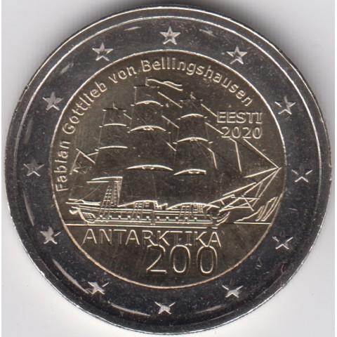 """2020. 2 Euros Estonia """"Antártida"""""""